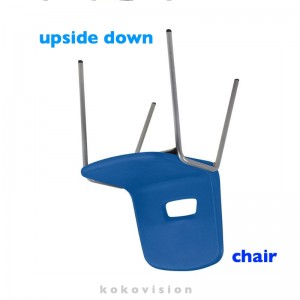 upside down chair 1