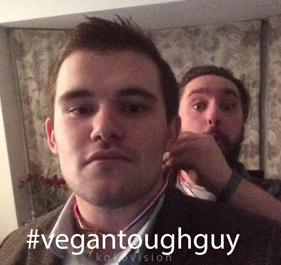 vegan tough guy